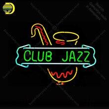 Неоновая вывеска для Jazz Club pipe Pub Bar Ночная неоновая лампа ручной работы для отдыха стены неоновый свет сигнал лампы пользовательские бар комнаты Аксессуары