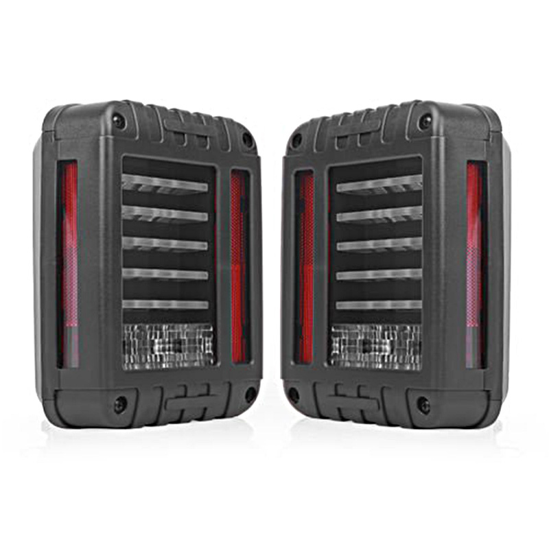 цена на LED Tail Light For Wrangler JK Brake / Reverse / Turn Signal Lamp Back Up Rear Parking Stop Light Daytime Running DRL Light