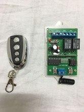 купить 2017 New 433mhz Rolling Code 2 Channel Gate Opener Remote Control Transmitter And Receiver free shipping по цене 1979.88 рублей