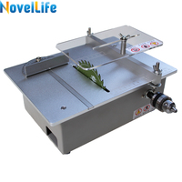 Multifunction Mini Table Saw Handmade Woodworking Bench Lathe Electric Polisher Grinder DIY Model Cutting Saw 7000RPM