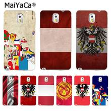 MaiYaCa Europe Map Austria Kyrgyzstan Flags High Quality Phone Accessories Case for Samsung Galaxy S3 S4 S5 S6 S7 S8 S8 PLUS(China)