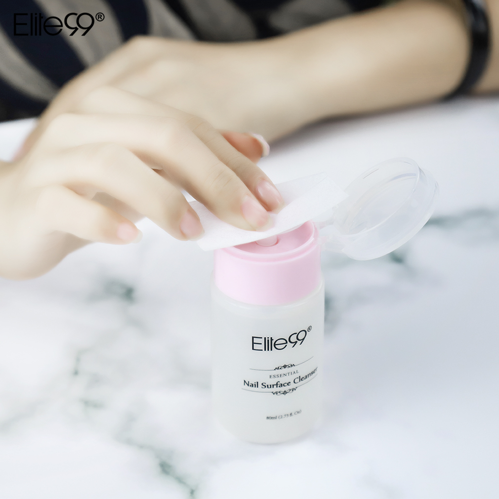 Nails Art & Tools Nail Polish Remover Elite99 80ml Uv Gel Remover Art Tools Nail Polish Cleaner Sticky Liquid Use With Nail Tin Foil Manicure Tools Brush Cleaner