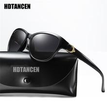 HDTANCEN Sunglasses Women Oval Vintage Polarized Goggle Fashion Mirror Sun Glasses Outdoors Travels Surfing Female Eyewear UV400