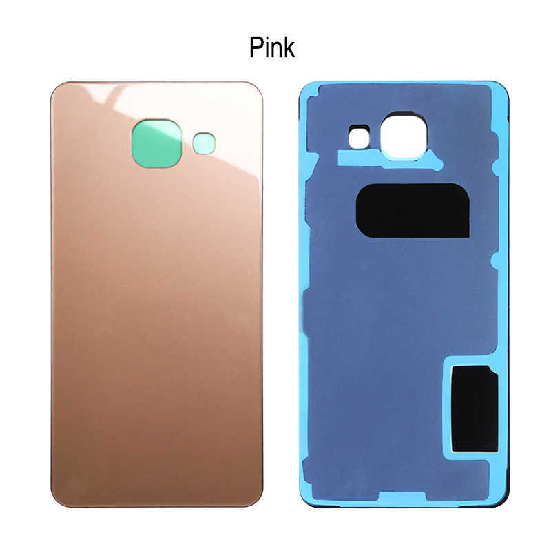 size 40 878f2 b068b Battery Back Cover For Samsung A3 2016 A310F Housing Door Battery Back  Cover For Samsung Galaxy A310 A310F Back Protect Glass