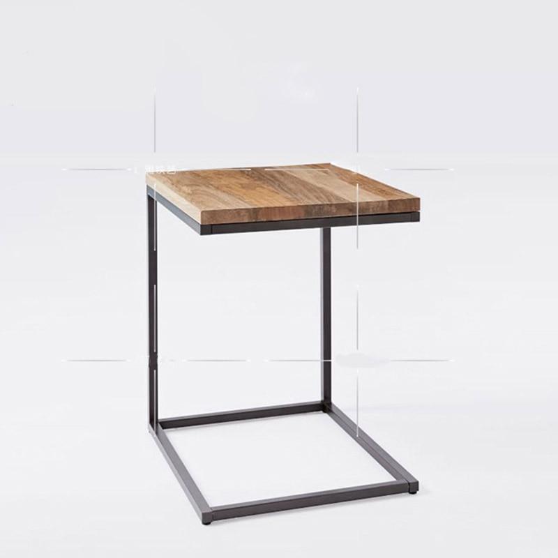 Muebles nórdicos creativo borde de cuantas normas modelado mesita de ...
