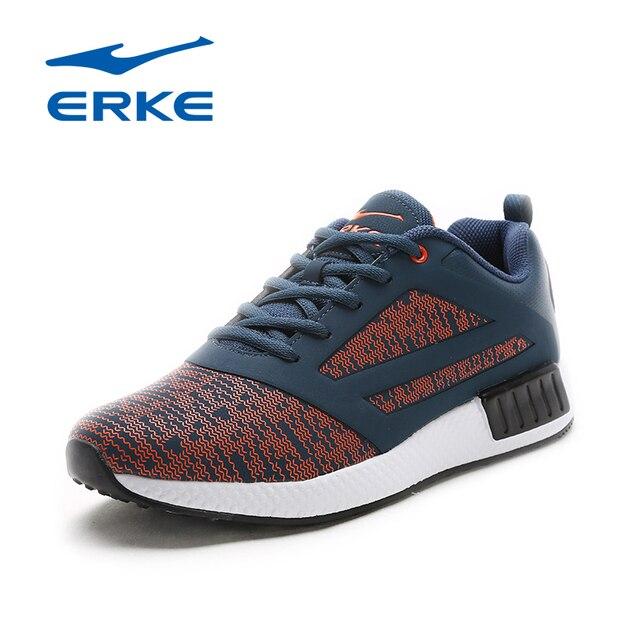 Ерке бренд горячая распродажа спортивные туфли для бега трусцой для мужчин 2018 Прогулки Кроссовки анти-slippy обувь для взрослых кроссовки спортивная обувь