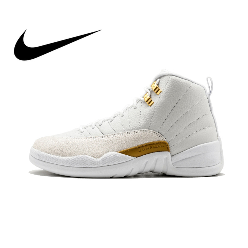 official photos 7a264 4bba7 US $312.79 |Nike Air Jordan 12 Retro OVO Men's Basketball Shoes Sneakers  Top Quality Athletic Designer Footwear Air Max Walking 873864 032-in ...