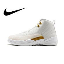 ebff3d6494ab8e Nike Air Jordan 12 Retro OVO Men s Basketball Shoes Sneakers Top Quality  Athletic Designer Footwear Air