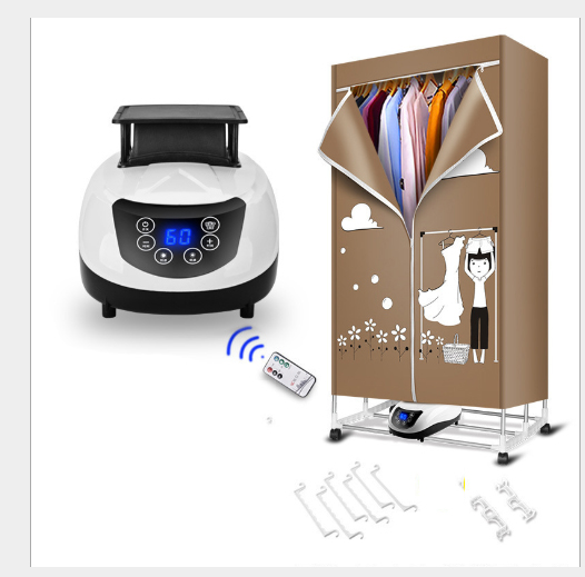 clothes Dryer family multi-functional heater hotel supplies 15KG  Anti-moisture mildew Remote control 2 Layer Collapsibleclothes Dryer family multi-functional heater hotel supplies 15KG  Anti-moisture mildew Remote control 2 Layer Collapsible