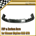 New Car Styling For Nissan Skyline R33 GTR AS Style FRP Fiber Glass Front Lip Car Accessories