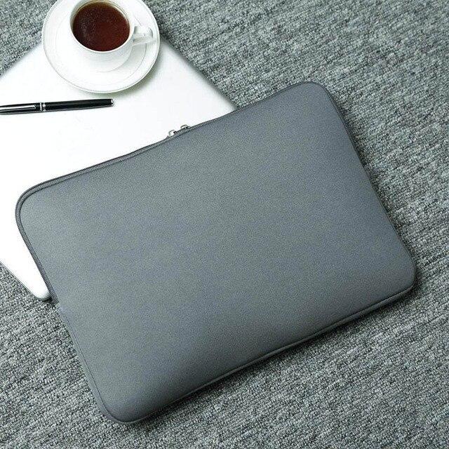 "BinFul Neoprene laptop notebook case Women Men sleeve Computer Pocket 11""12""13""15""15.6"" for Macbook Pro Air Retina Carry 14 inch 4"