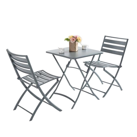 Furniture Garden Sets Outdoor Furniture Folding Garden Furniture Patio Furniture Muebles De Jardin Solid Wood+iron 1 Table+2chairs Set Hot Garden Sets