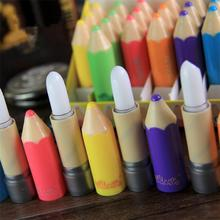 New Nutritious Moisturizer lipstick Lip Balm Fantastic Crayons Funky Unisex Pencil Shaped Solid