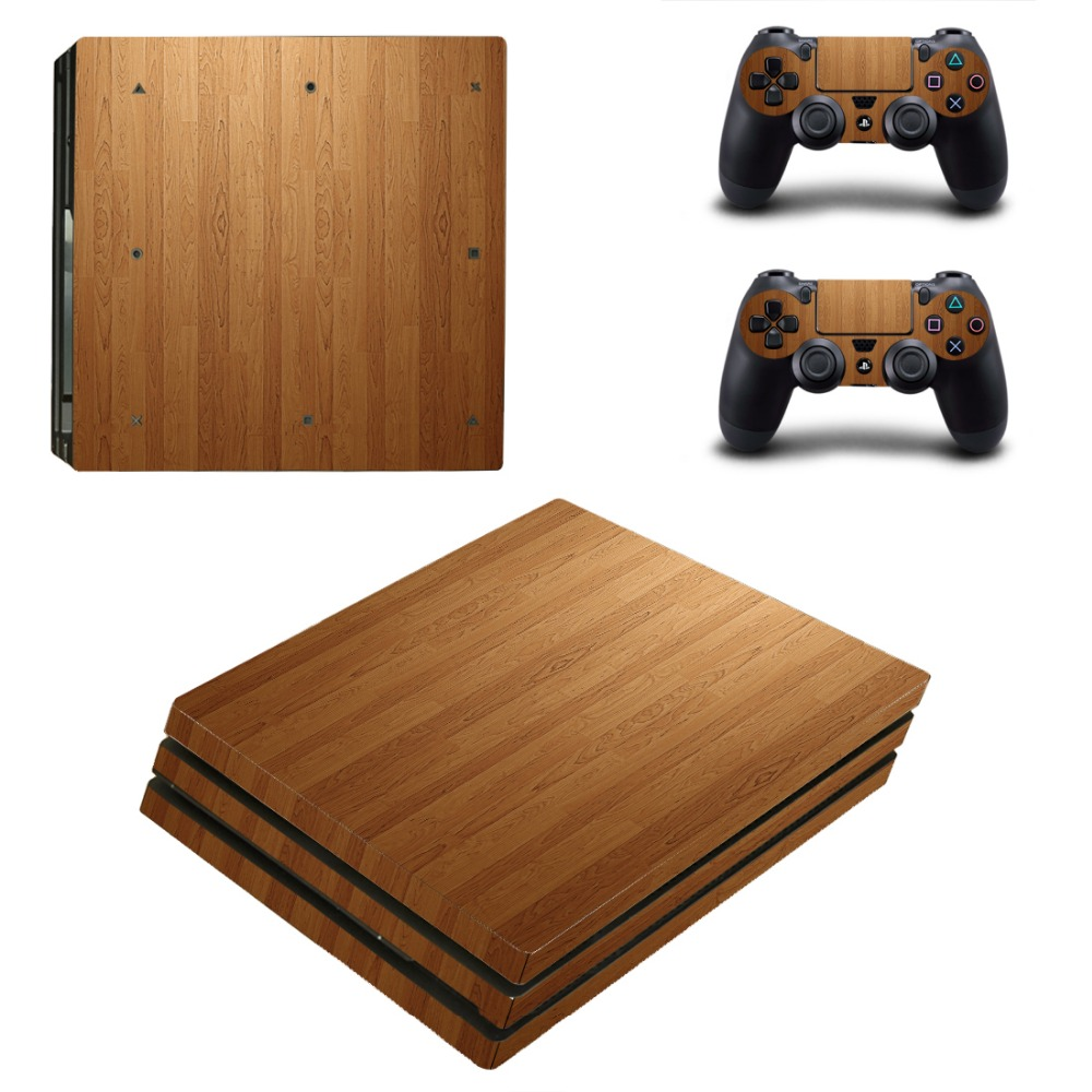 Game accessories For Playstation 4 PS4 PRO Console Game Decal Skin Stickers + 2 Pcs Stickers For PS4 PRO Controller 0178