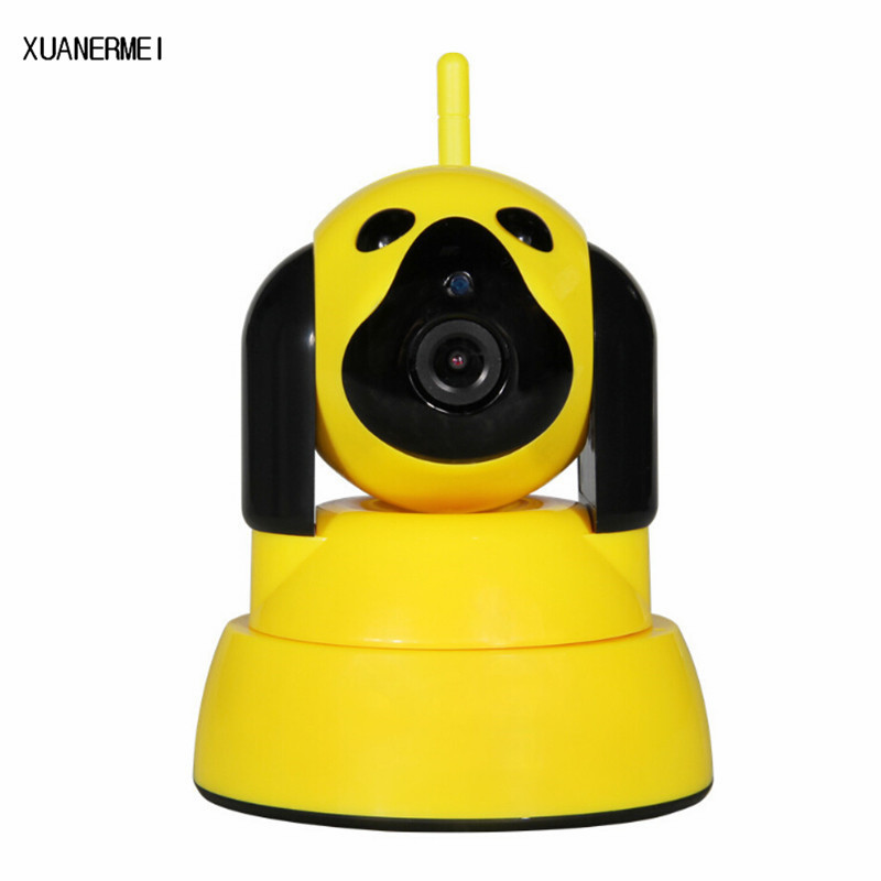 XUANERMI Video IP Camera WIFI Home Baby Monitor 720P HD SD PTZ Audio Night Vision Wireless Camaras de seguridad Security System цена