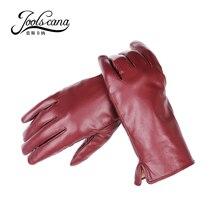 Joolscana font b leather b font font b gloves b font font b women b font