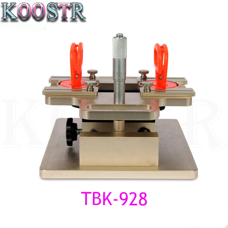 Free shipping Original TBK 928 LCD Dismantle Machine A frame Separator For mobile phone Precisely Adjust