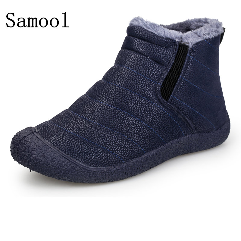 winter snow shoes boot lightweight ankle boots