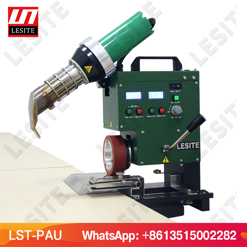 Banner Hem welding machine Tarpaulin Hem Welder Hot Air Welder Keder Welding Rope welding for PVC