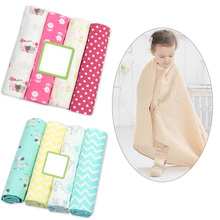 Baby Blanket Newborn Muslim Diaper 100% Cotton Photography Child Wrap