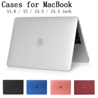 New Laptop Case Cover For Apple Macbook Air Pro Retina 11 12 13 3 15 For