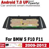 "hd מסך 10.25"" סטריאו מסך HD 7.0 אנדרואיד עד לרכב GPS Navi מפה BMW 5 F10 F11 2009 ~ 2012 CIC מקורי סגנון מולטימדיה נגן רדיו (1)"