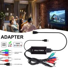 2M HDMI To Color Difference HDMI To YPBPR Converter HD HDMI To YPBPR Adapter Component To HDMI Zepthus ce link ypbpr component component to hdmi with audio converter av to hdmi adapter