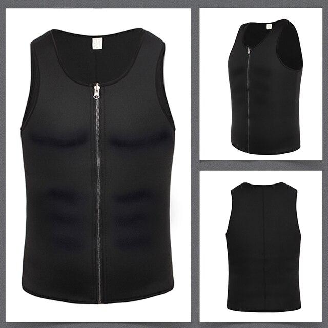 Miss Moly Men Body Shaper Neoprene Shapers Promote Sweat Waist Trainer Tummy Slimming Shapewear Male Modeling Belt Losing weight 4