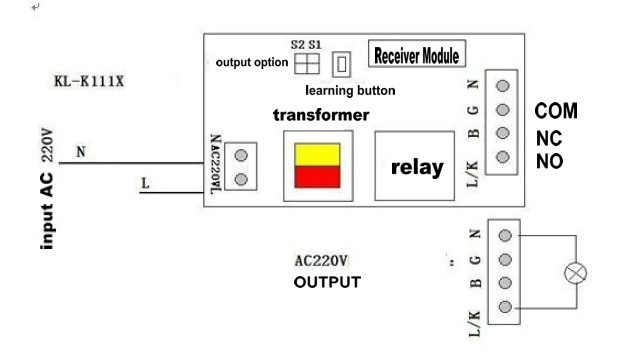 Long Distance 1000m 1CH 315MHz 433mhz AC 220V 50A RF Wireless Remote Control Controller Relay Switch long distance 1000m 1ch 315mhz 433mhz ac 220v 50a rf wireless 220v relay diagram at fashall.co