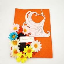 ZhuoAng Beautiful dance Cutting/DIY Paper Card Craft Embossing Die Cut DIY scrapbooking cutting machine