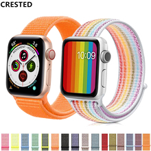 Colorful Sports Woven Nylon 2 Watch Band For Apple Watch iwatch Series1 2 38mm 42mm Wrist bracelet Strap With watchband Adapter