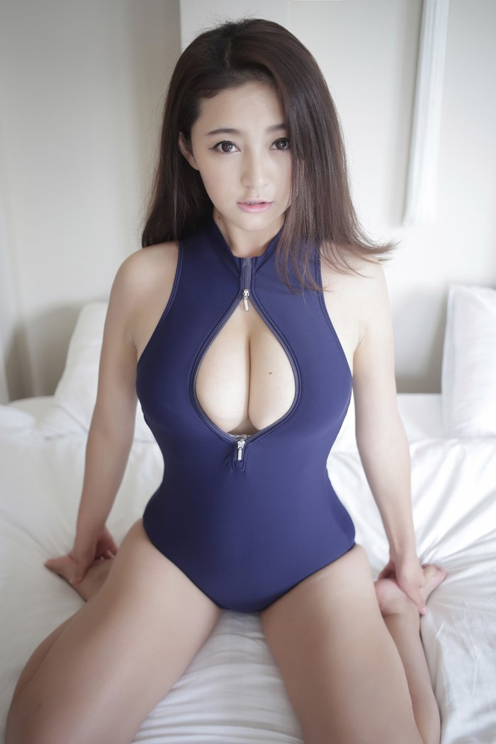 tight swimsuit girl Asian
