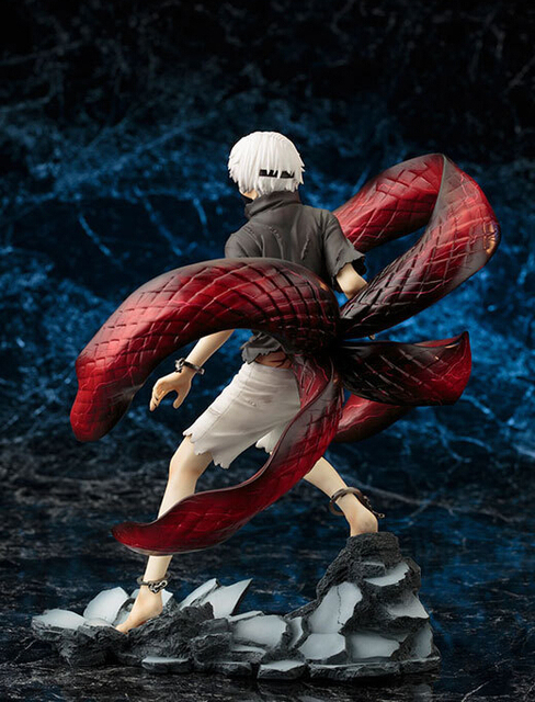 22cm Tokyo Ghoul Kaneki Ken Action Figures PVC brinquedos Collection Figures toys for christmas gift