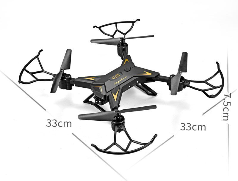 New RC Helicopter KY601S Drone with Camera HD 1080P WIFI FPV RC Drone Professional Foldable Quadcopter  Minutes Battery Life 20
