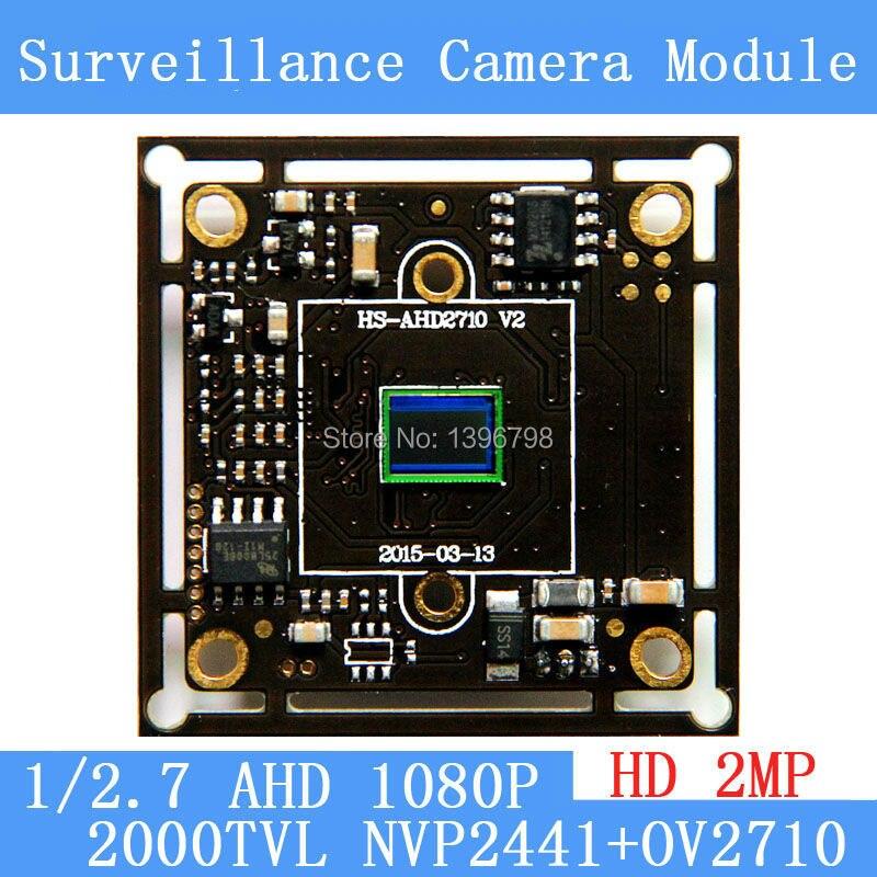 где купить 2MP1920*1080 AHD CCTV 1080P Camera Module Circuit Board , 1/2.7 CMOS NVP2441+OV2710 2000TVL PCB Board PAL / NTSC Optional по лучшей цене