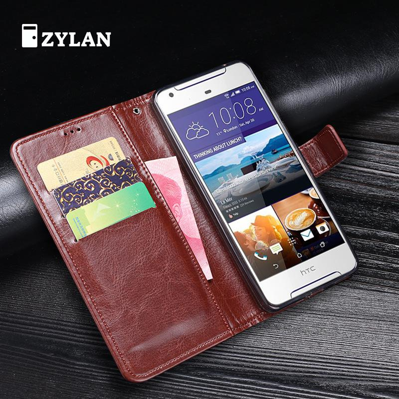 ZYLAN For HTC Desire 628 Case Leather Luxury Wallet Cover Case For HTC Desire 628 Dual SIM Case Protective Back Cover Bag & GIFT