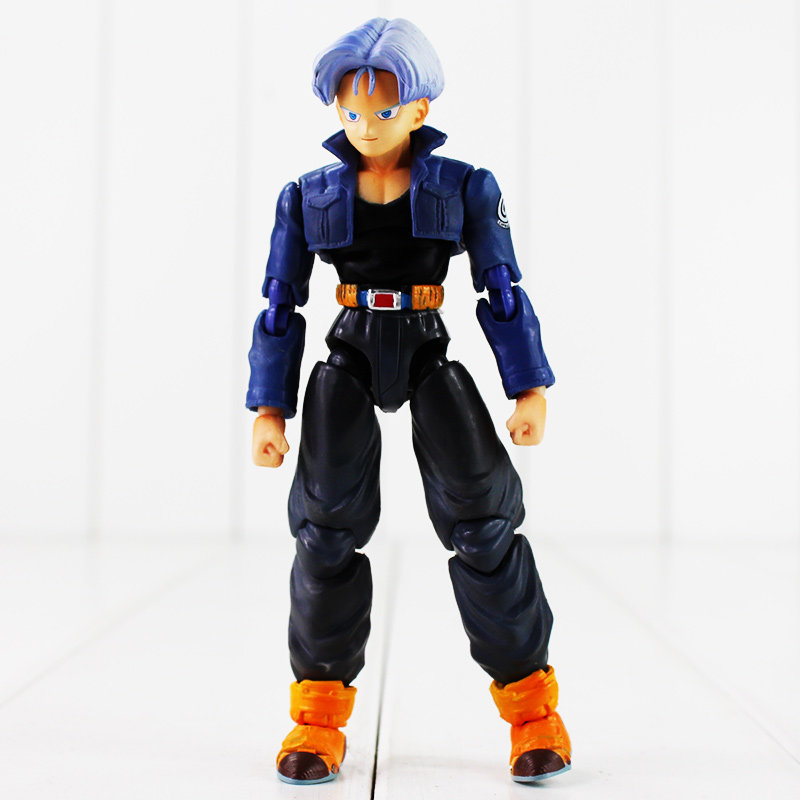 Image 2 - Trunks SHFiguart Dragon Ball Z dragonball PVC Figure Toy with Box-in Action & Toy Figures from Toys & Hobbies