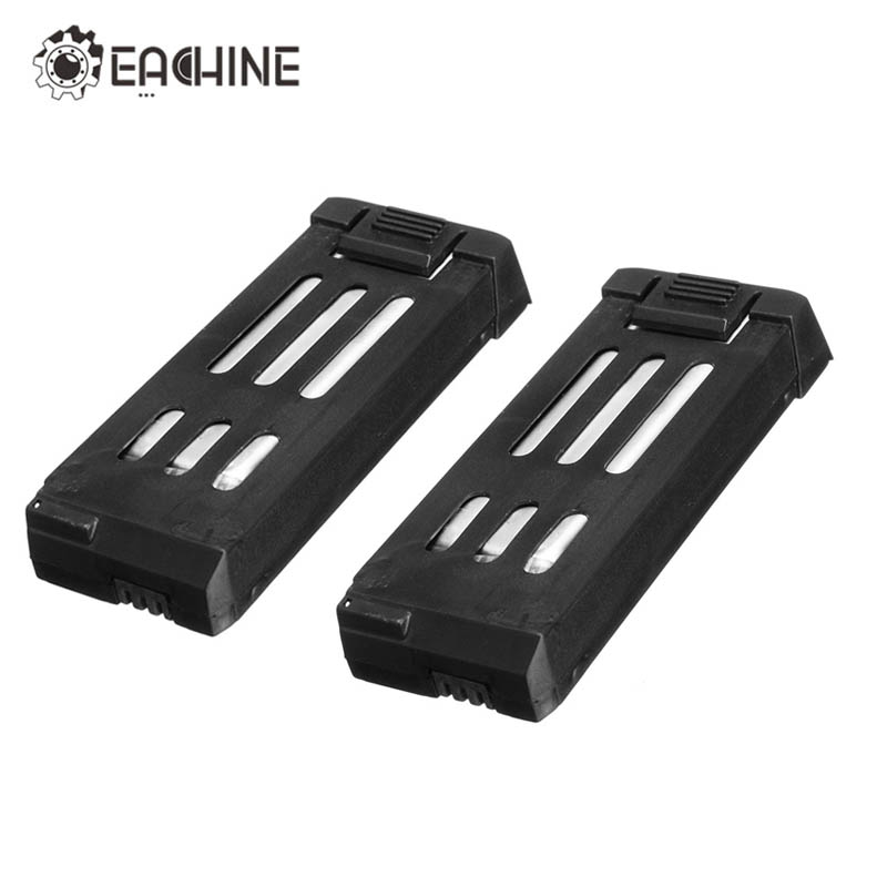 Eachine E58 WiFi FPV RC Quadcopter Spare Parts 3.7V 500MAH Lipo Battery Rechargeable For RC Drone Replace Components