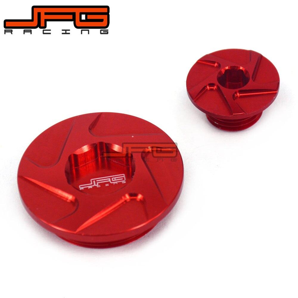 CNC Заготовка двигатель синхронизации Plug Набор для CRF150R CRF250R CRF450R CRF450X XR250 Baja Motard XR400 Motard TRX400EX TRX450R TRX450ER