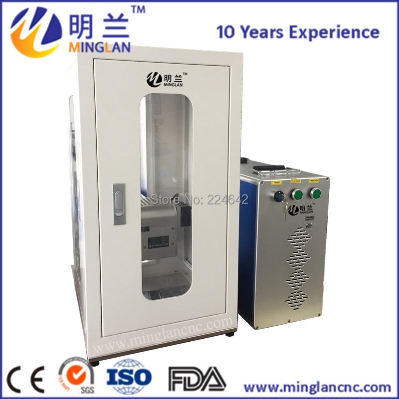 10 Вт 20 Вт 30 Вт 50 Вт Закрытая модель лазерная маркировочная машина волокна маркировочная машина