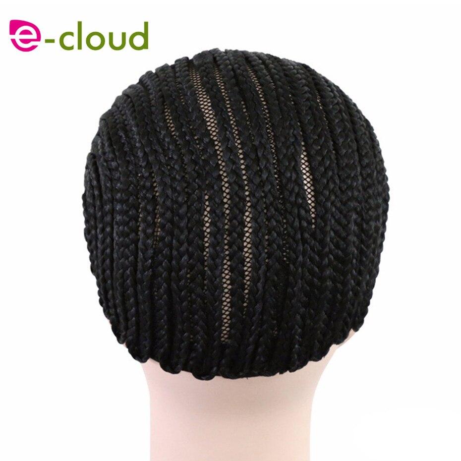 Cornrow peruca caps para fazer perucas cor