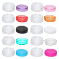 5g(10pcs/lot) Plastic Cream Jar Cosmetic Container Sample Jar Display Case Cosmetic Packaging 5g Mini plastic bottle 10 Colors