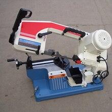 Металлическая машина для пиления портативная распиловочная машина с низким уровнем шума небольшая металлообрабатывающая распиловочная машина с английским руководством