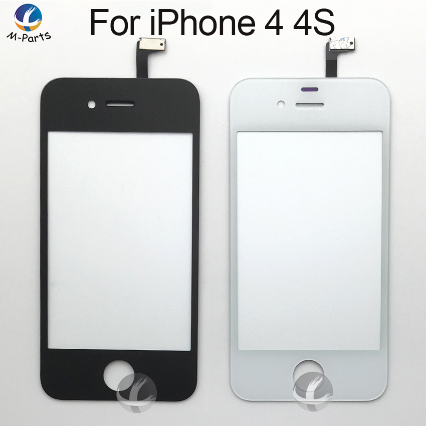 Touch Panel For IPhone 4 4S Touch Screen Digitizer Glass Lens Sensor Replacement Parts For TouchScreen High Quality OEM AAA Test