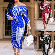 2018 New African Long Dresses For Women Dashiki Clothing Print Nice Neck Suit