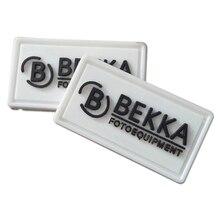 Aangepaste Zelfklevende Sluiting Tape Kleurrijke Rubber Patch Voor Kleding 3D Logo Pvc Rubber Labels Met Lus En Haak Voor Kleding