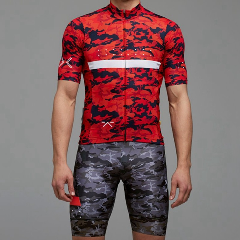 2018 Full Gas Aero Ride camouflage cycling Jersey White ropa ciclismo Men  Summer riding shirt short sleeve Mountain bike jersey-in Cycling Jerseys  from ... cb677f580