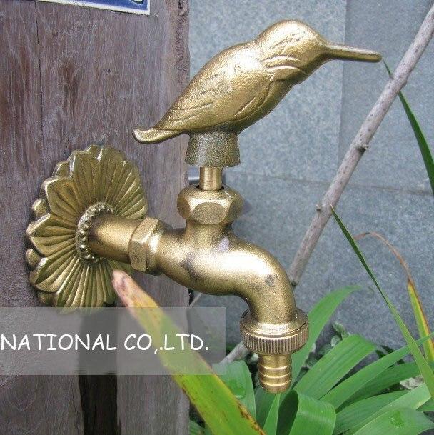 Free shipping antique basin faucet/bathroom washing basin brass faucet/antique kitchen faucet