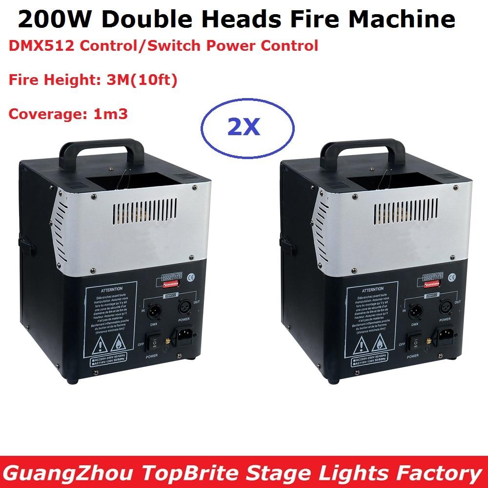 2 единицы, Новое поступление, 200 Вт, сценическая пламенная машина, распылительная пожарная машина, DMX, Пламенные проекторы, сценическое освет