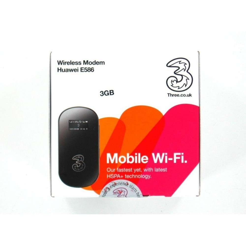 HUAWEI E586 UNLOCKED WHITE MOBILE WiFi WIRELESS BROADBAND ROUTER